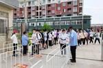 望江县2020年中考体育考试顺利开考