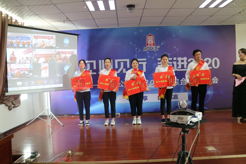 """金鼎公司""""2020年度全面表彰大会""""隆重举"""