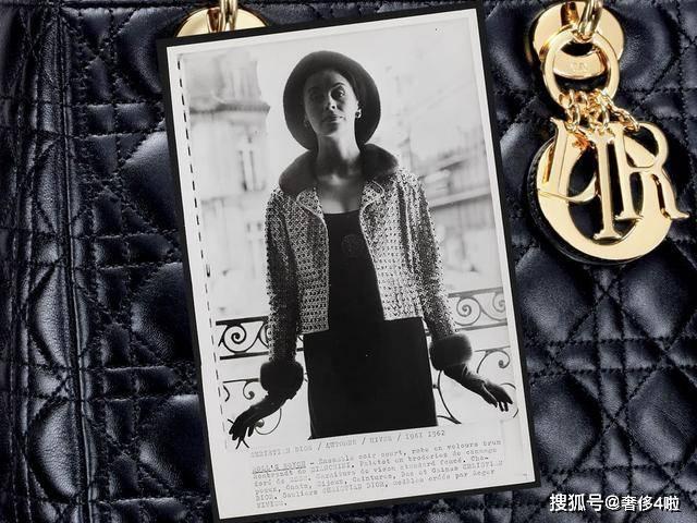 经典的迪奥Lady Dior 包袋历史由来,几十年依然时尚抢手