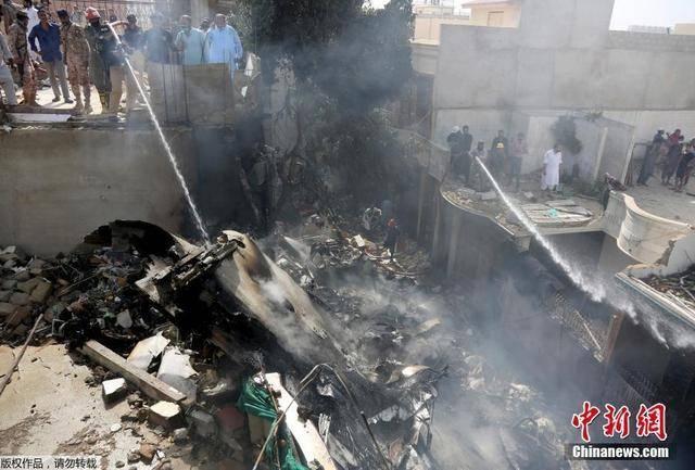 直击巴基斯坦坠机救援现场