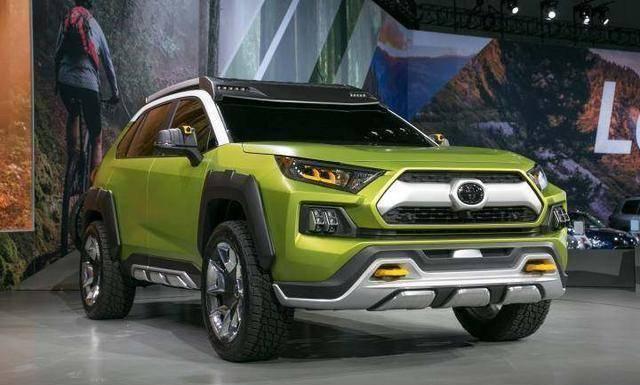 丰田推出全新硬派SUV
