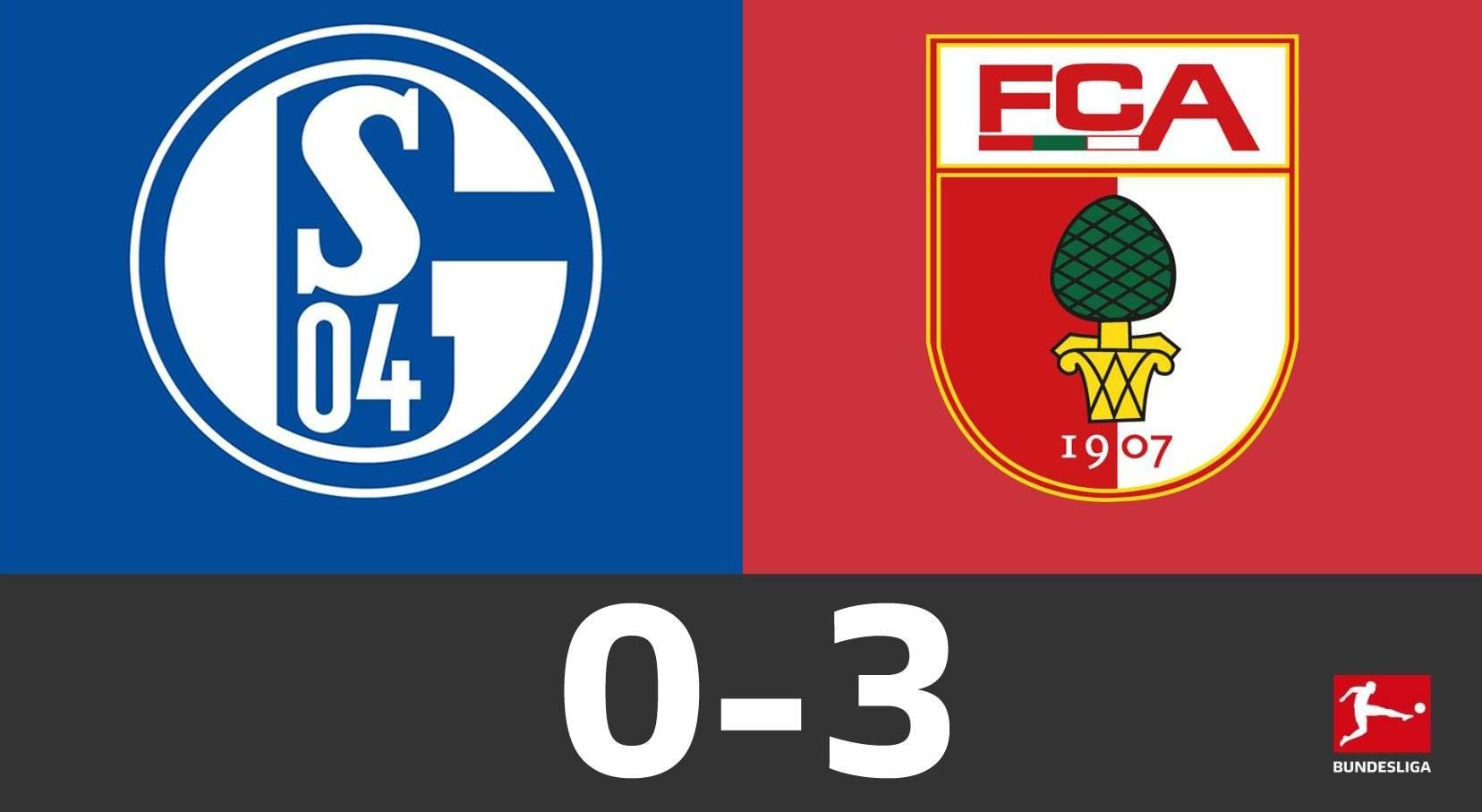 德甲-沙尔克2场狂丢7球 0-3奥格斯堡复