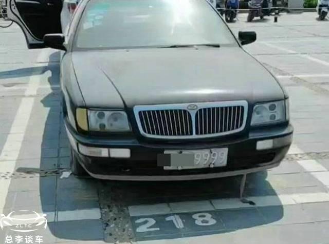 原来河南某广场停了一排丧尸车,都是黑色牌照,车牌都是豹纹号码