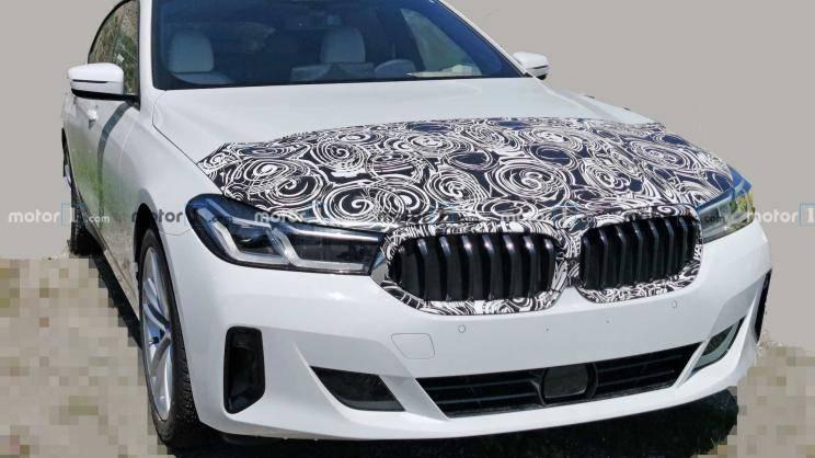 最强3.0T动力,新款宝马6系GT实车曝光,5月27日发布