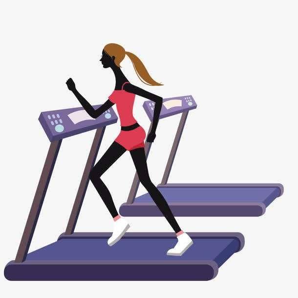 而别人却宁愿少吃几顿少买口红衣服也要挤出钱来买个跑步机在家锻炼图片