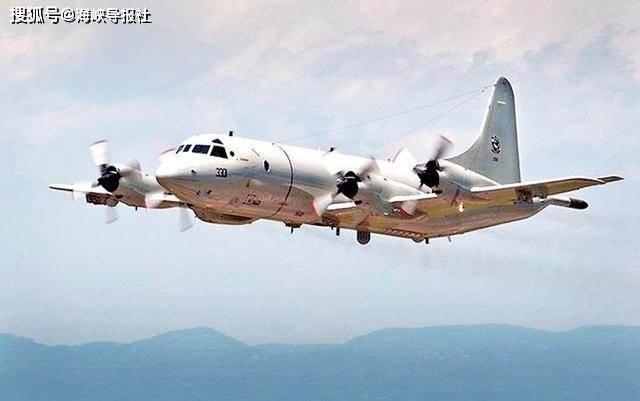 美国海军P-3C反潜机今再飞台湾南部海域