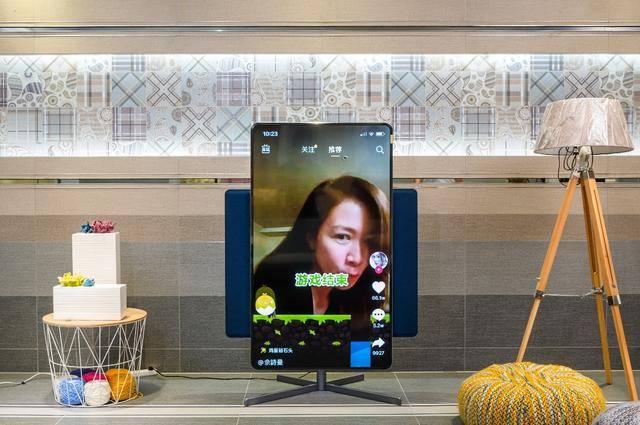 电视也能竖着看,TCL·XESS旋转智屏上手体验