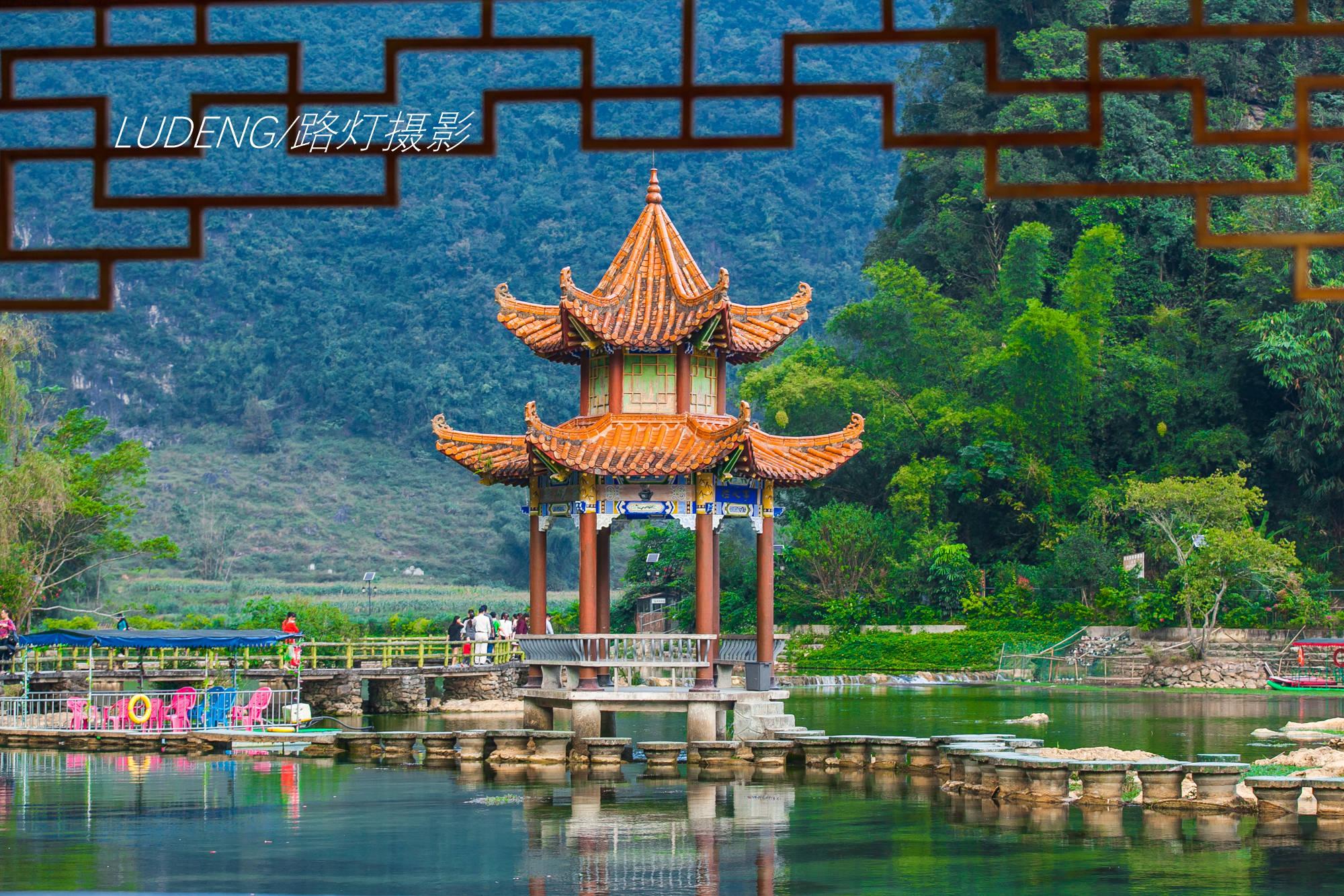 广西最迷人的4处旅行地,烟岚云岫,灵气飘逸,特别适合去避暑