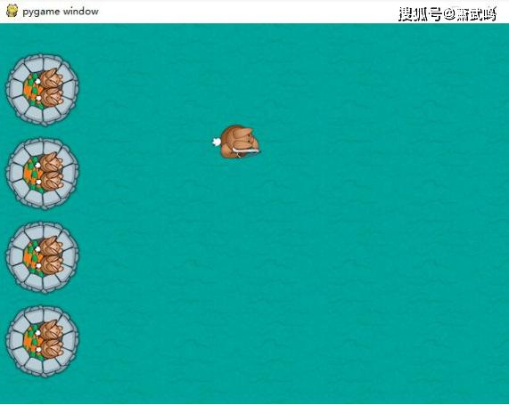 Python小游戏项目,兔子猎手教程,效果以及源码文件 第8张