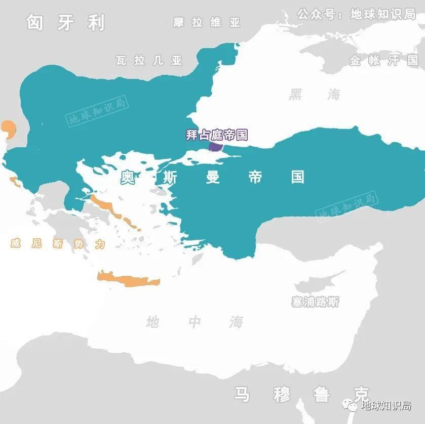 原创希腊的国家构建|地球知识局