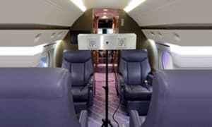 西门子公司推出紫外线飞机客舱消毒设备