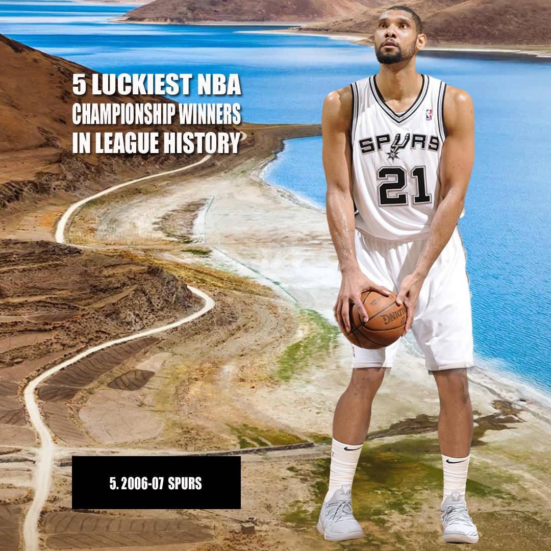美媒评NBA5支最幸运总冠军球队,詹姆斯第4,库里比伦纳德还走运!