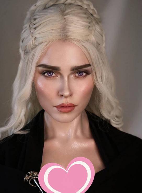 原创 俄罗斯网红神级Cosplay令人惊叹,美丽的背后还有努力,化妆一次