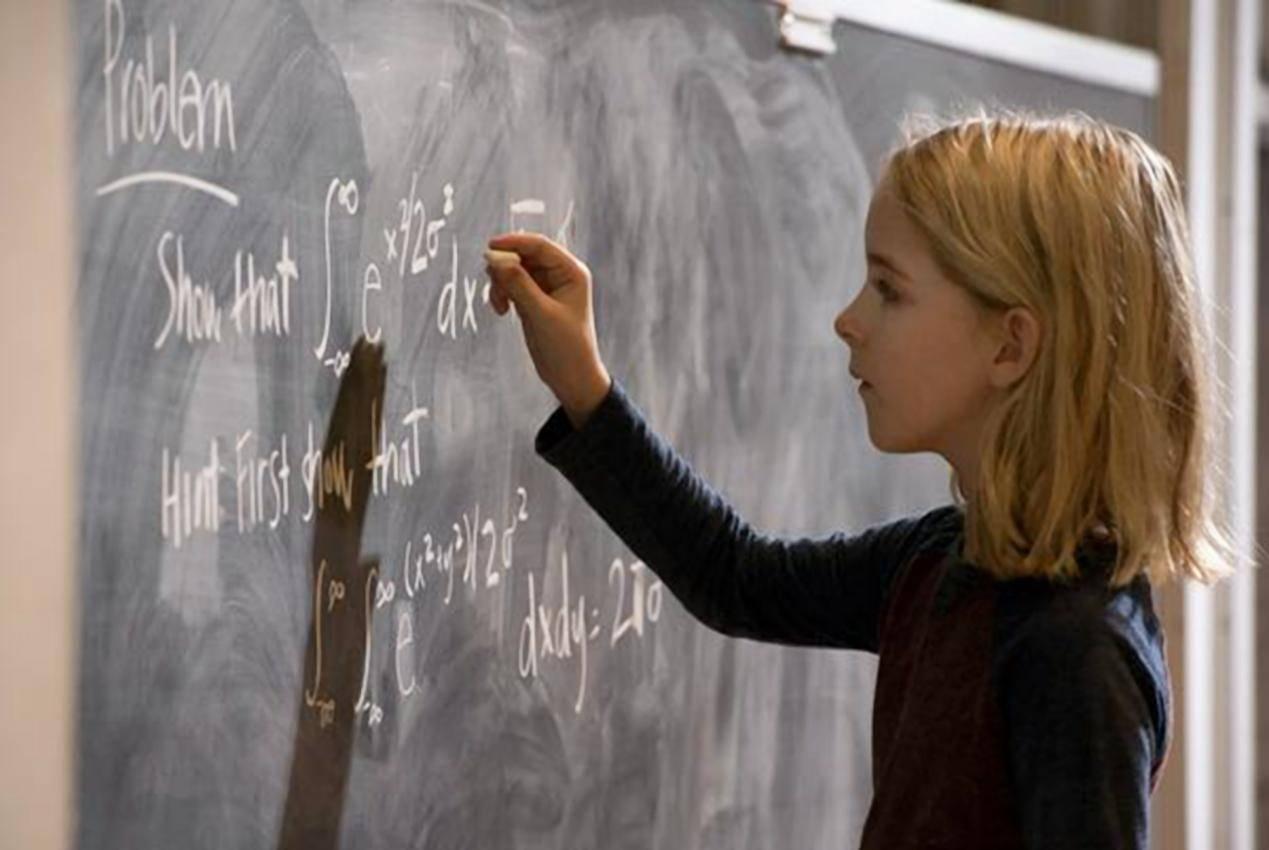 天才少女电影手机壁纸