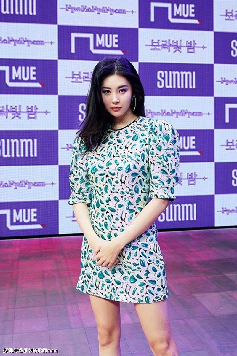 李宣美携新曲高调回归,穿亮片裙双腿白皙纤细,不愧是南韩腿精