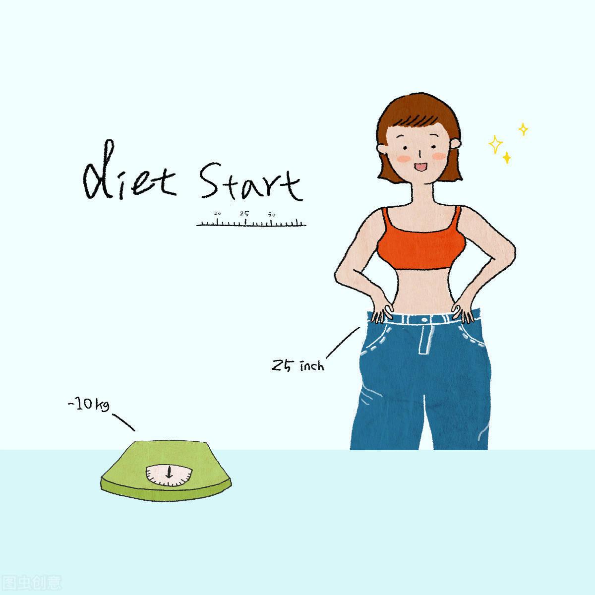 你的腰臀比例标准吗?标准的腰臀比是健康的体现!如何瘦腰提臀? 减肥误区 第2张