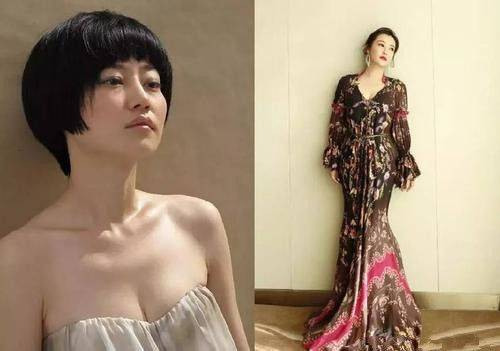 """郝蕾称得上微胖界""""女神"""",穿上旗袍后凹凸有致的身体一览无遗"""