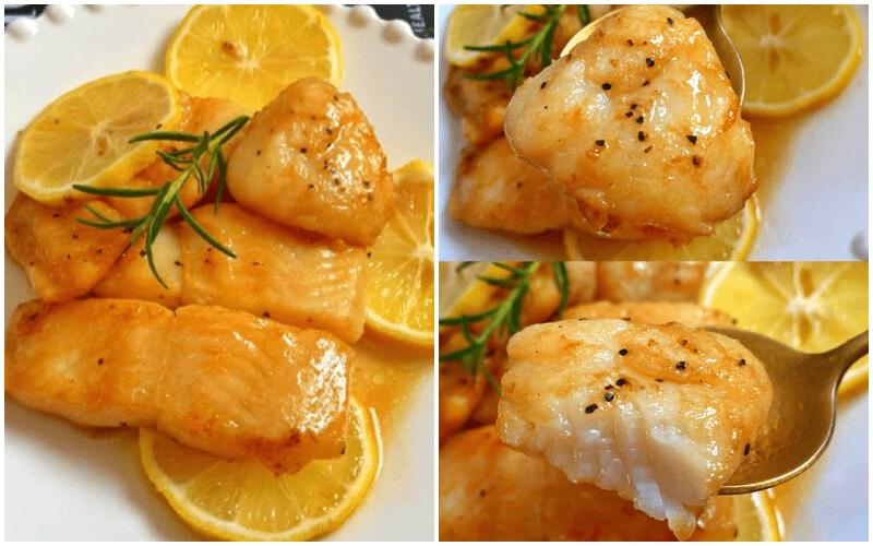 倩狐减肥食谱:夏日香煎低脂柠檬鱼,超嫩滑的鱼肉好吃不胖! 减肥方法 第1张
