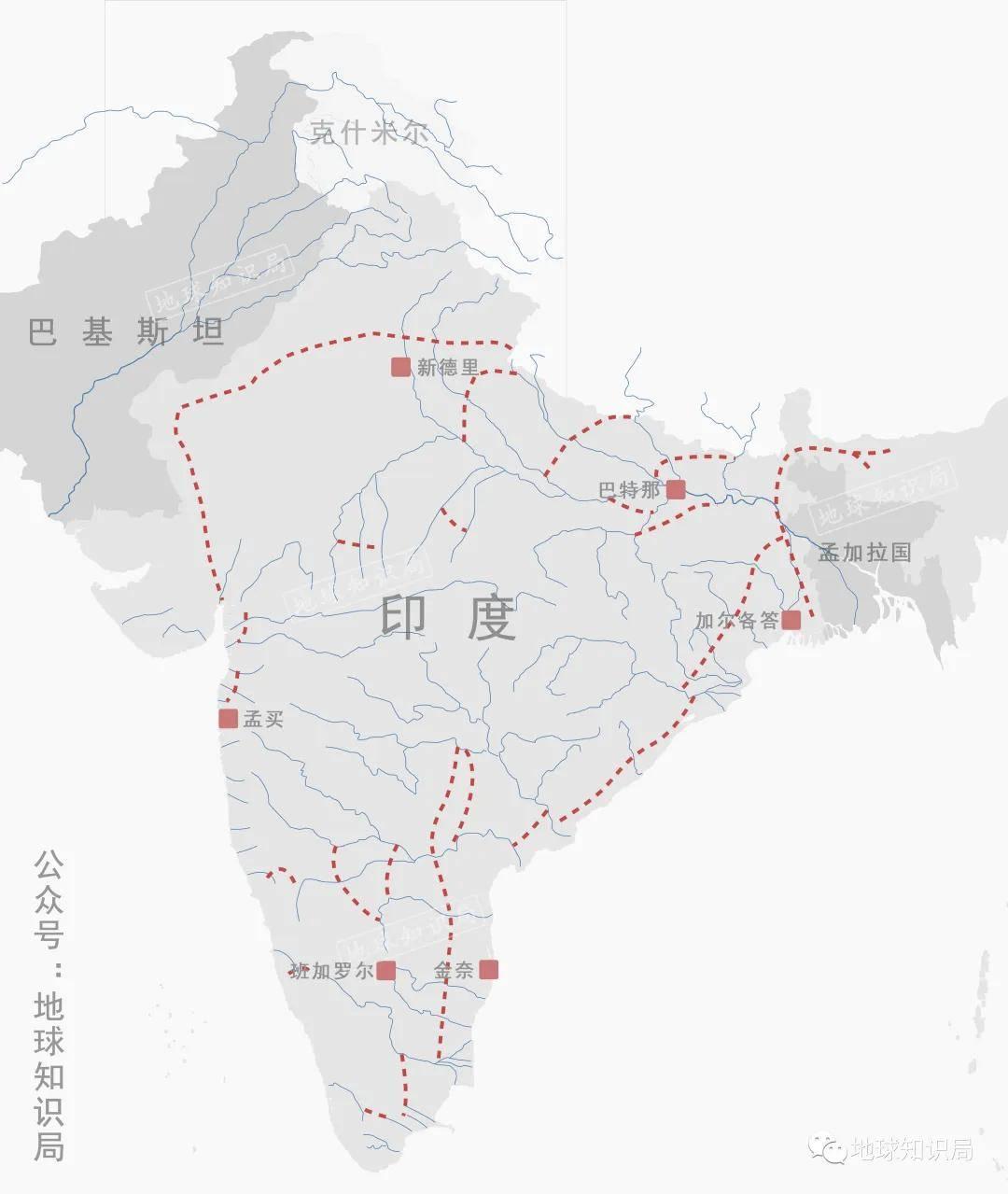 """印度,正在大搞""""北水南调"""""""