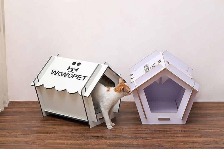 广州窝窝生产的宠物屋主要质料是负离子