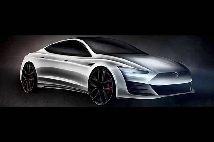 外观线条硬朗,车内空间变大了!新一代特斯拉Model S渲染图曝光