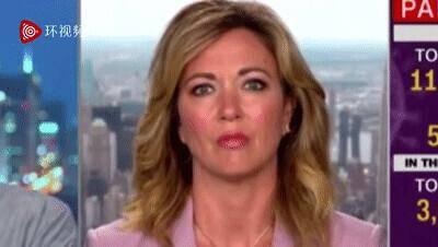 跟随记者镜头看到满大街人人戴口罩美国女主播这个表情