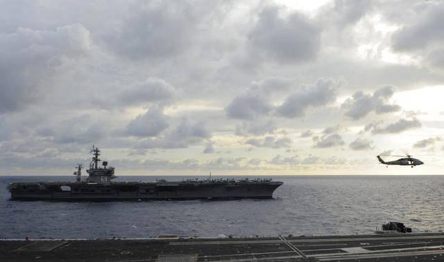 末日孤舰 美军舰再创航行记录 中国能学到什么?_航母