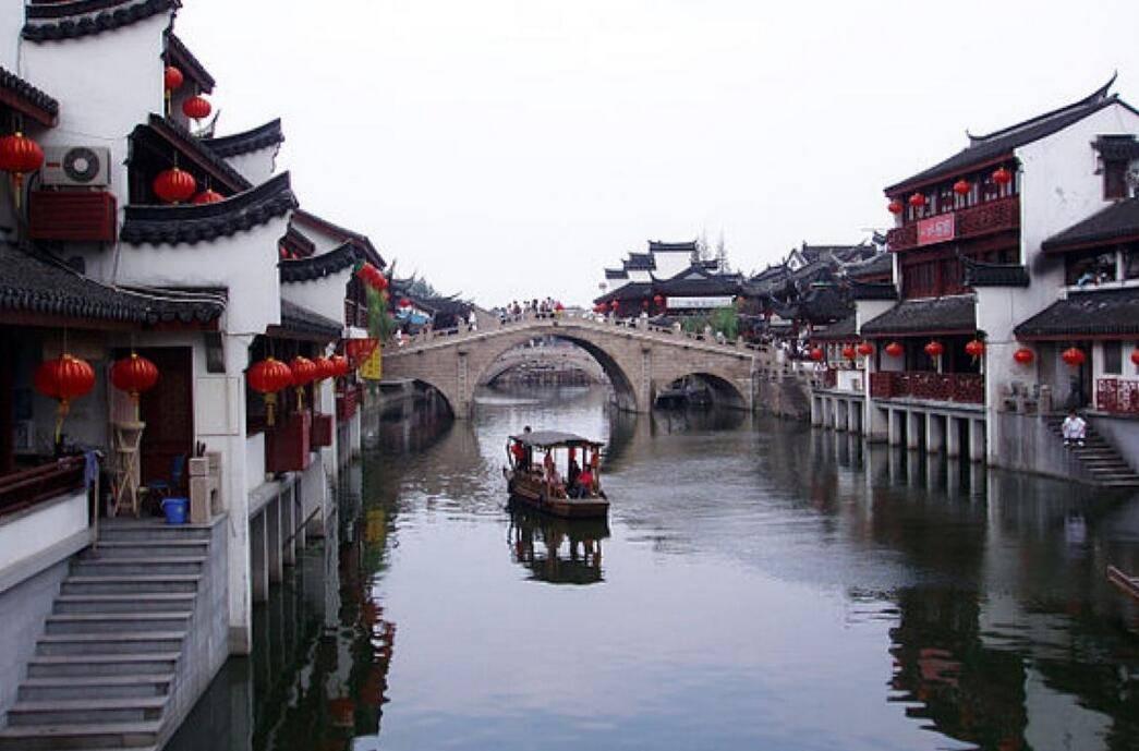 原创             离上海市中心最近的古镇,千年上海看七宝,就在虹桥机场隔壁