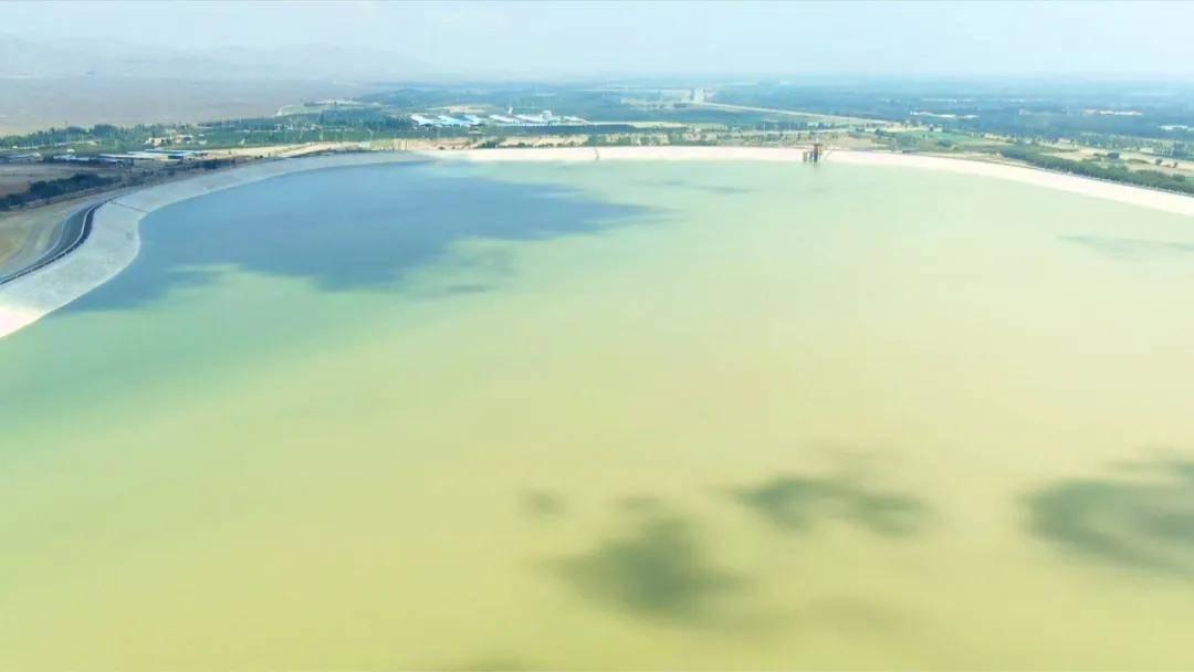 览夏    西夏水库:您见过一片碧蓝的黄河水吗?