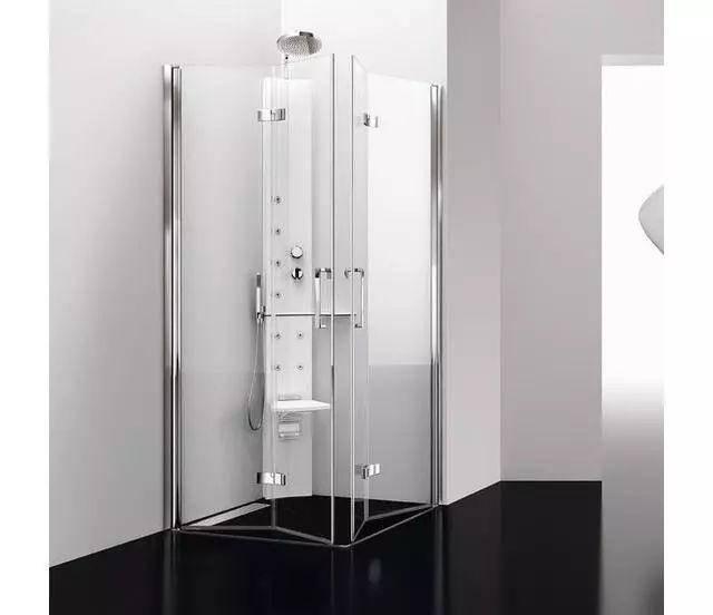现在谁还在用传统的淋浴房?折叠式淋浴房更受