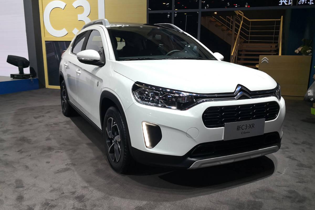 2020成都车展:东风雪铁龙C3-XR专版售价11.89万元