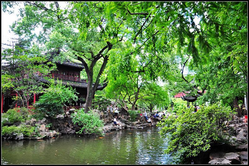 惊艳!亭台楼阁、水榭石桥――古色古香的豫园