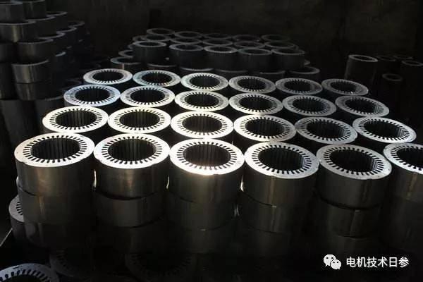 电机制造过程始于冲剪技术革命。 宁波电机制造