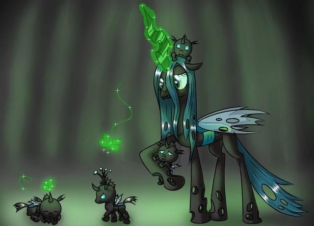 小马宝莉: 邪恶的虫茧女王魅力无限,会像其他反派被洗白吗?