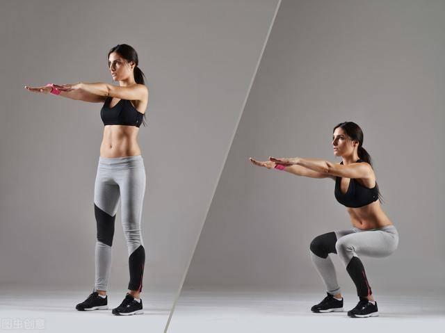 一个女孩每天100个深蹲,坚持30天后,身材会有什么变化?