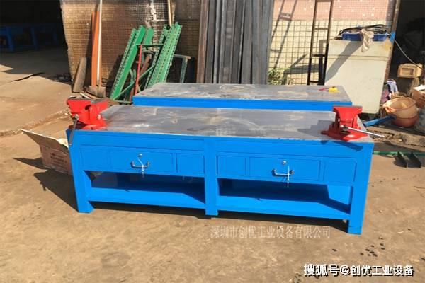 钢板模具台