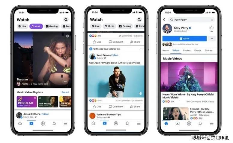 Facebook将支持官方MTV音乐视频播放