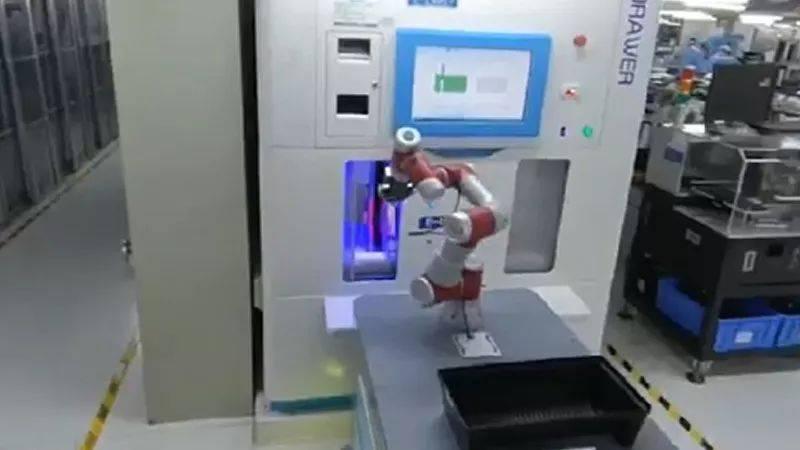 节卡机器人:5G下的智慧物流——柔性生产物流系统
