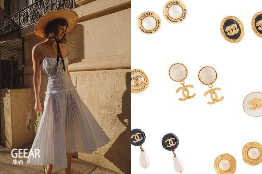 Chanel复古耳环,在耳畔呢喃的优雅!