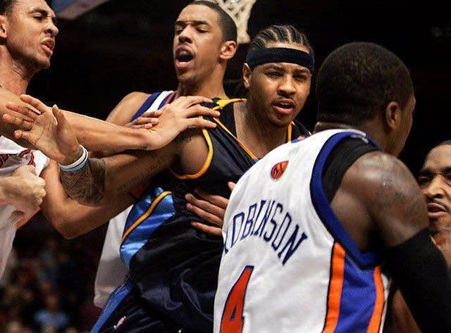 NBA里谁打架厉害?细数NBA历史里打架厉害的前五