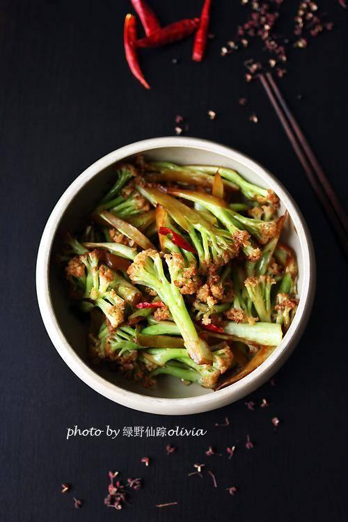 一个窍门让菜花更好吃,比吃肉还爽