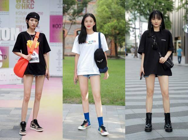 夏天穿短裤出门过时了,学学潮人种草的新穿法,时髦吸睛还显瘦