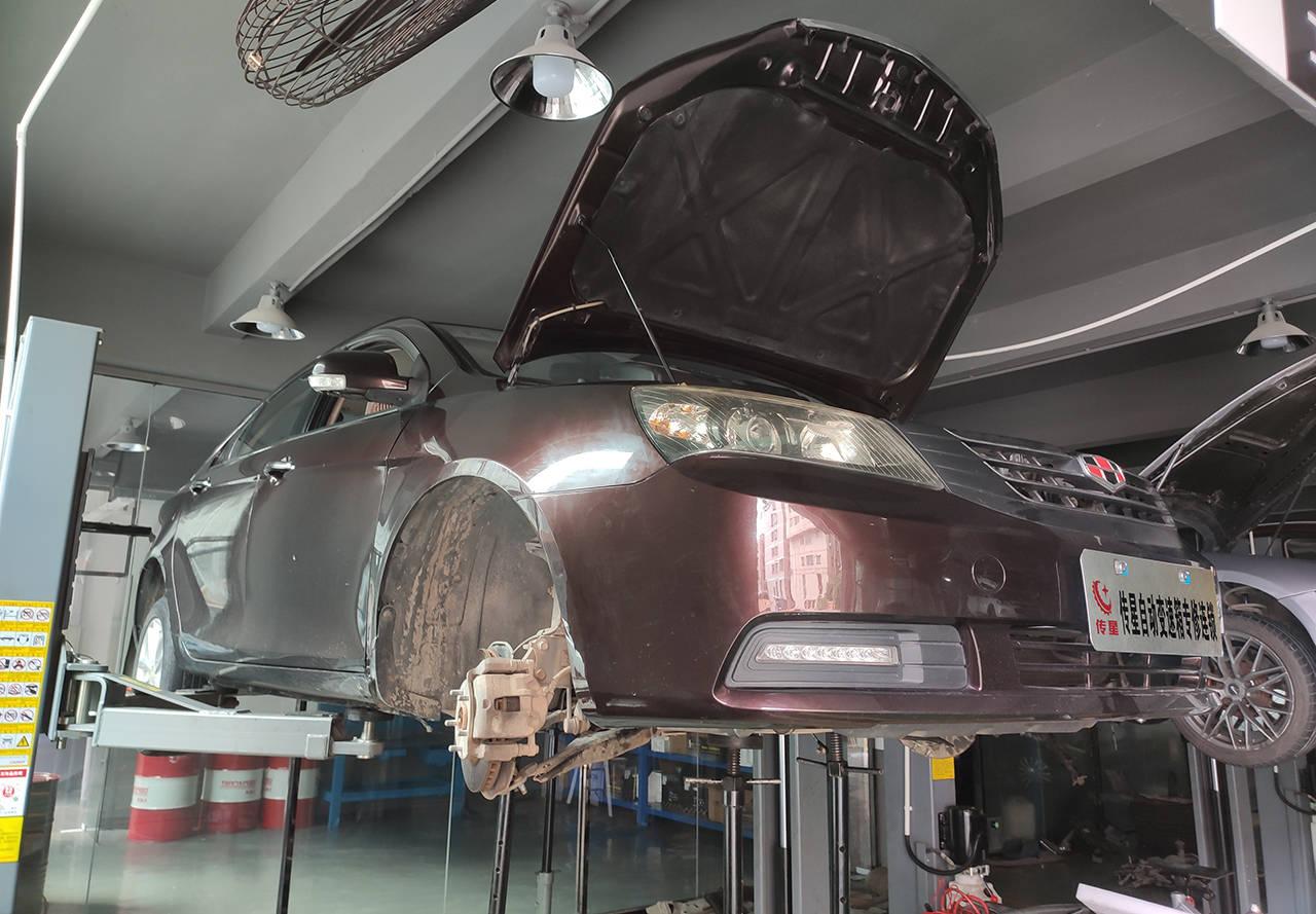 吉利EC718无法加速,自动变速箱异常,吉利自动变速箱维修