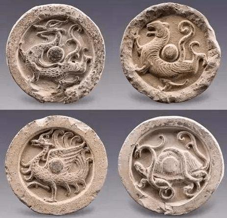 中国古代神话传说中的四灵:青龙、白虎、朱雀、玄武
