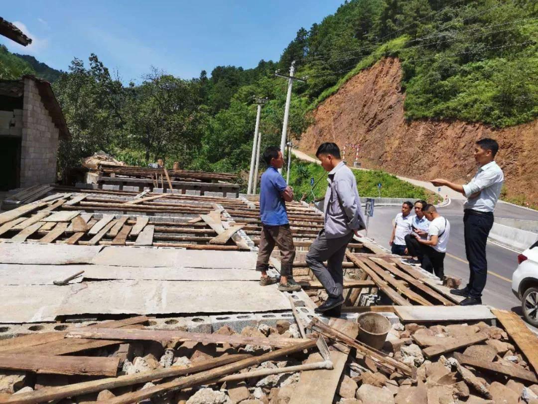 威宁县岔河镇大力开展乱占耕地建房问题整治工作