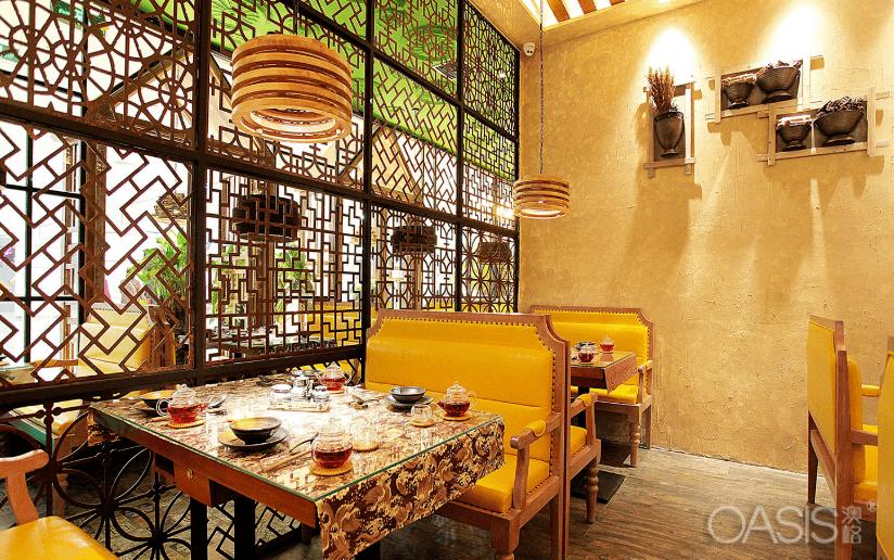 餐厅家具风格的选择可以给您一个良好的