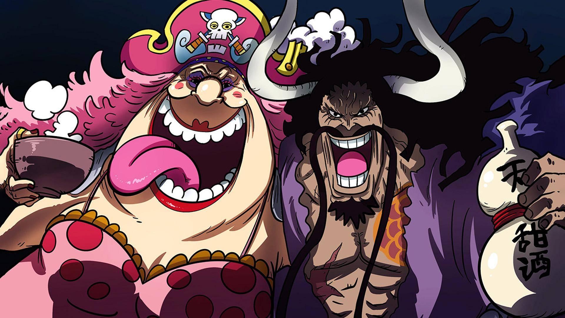 海贼王:作者尾田荣一郎真会玩,凯多的嫡系战力居然是扑克牌