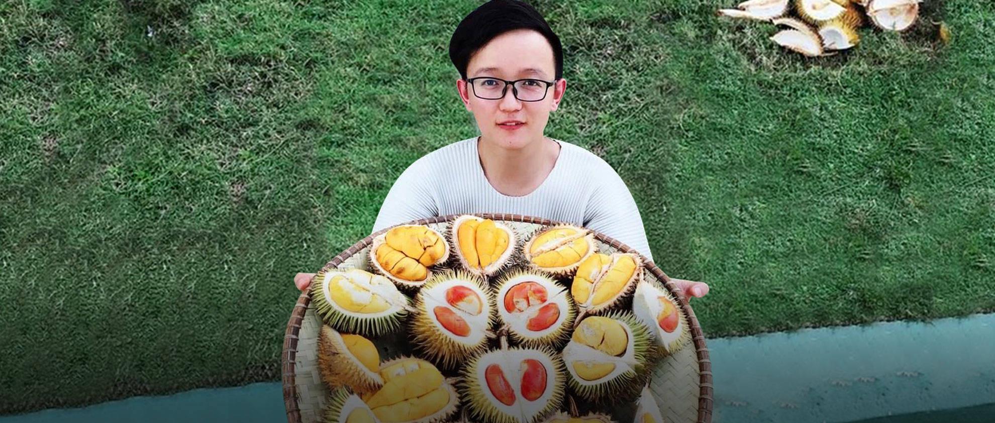 一年花50万吃水果的男生:穷的时候饭都吃不起