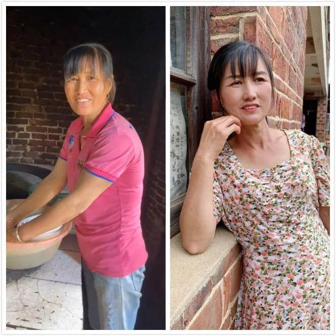 女孩为农村女性化妆,变妆前后对比感动网友:你比想象中更美!