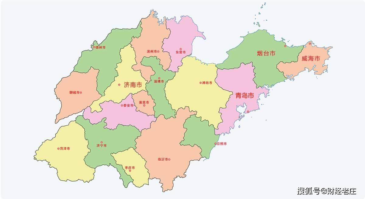 山东省各市经济总量_山东省各市人口分布图